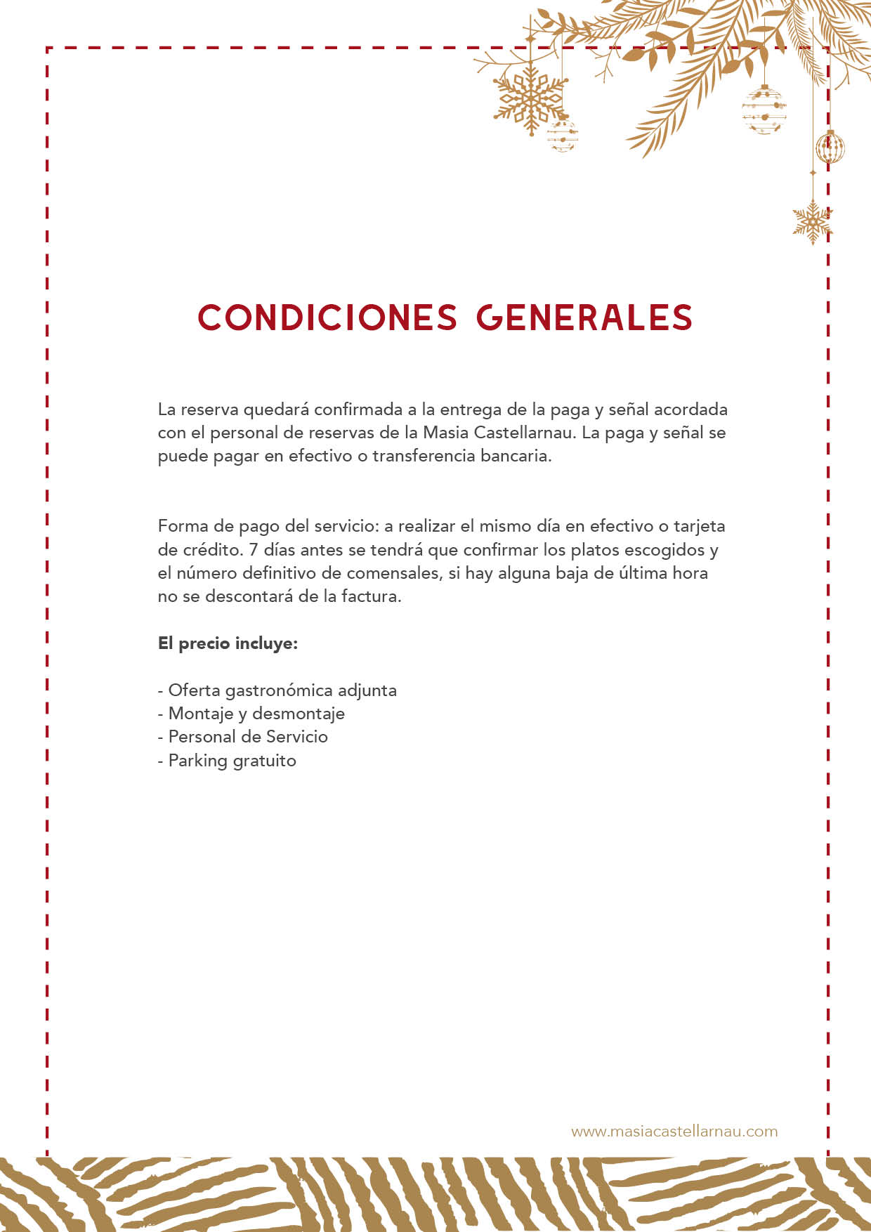 Menús Navideños 2019 5